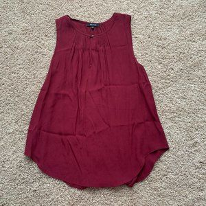 madewell cranberry tank top